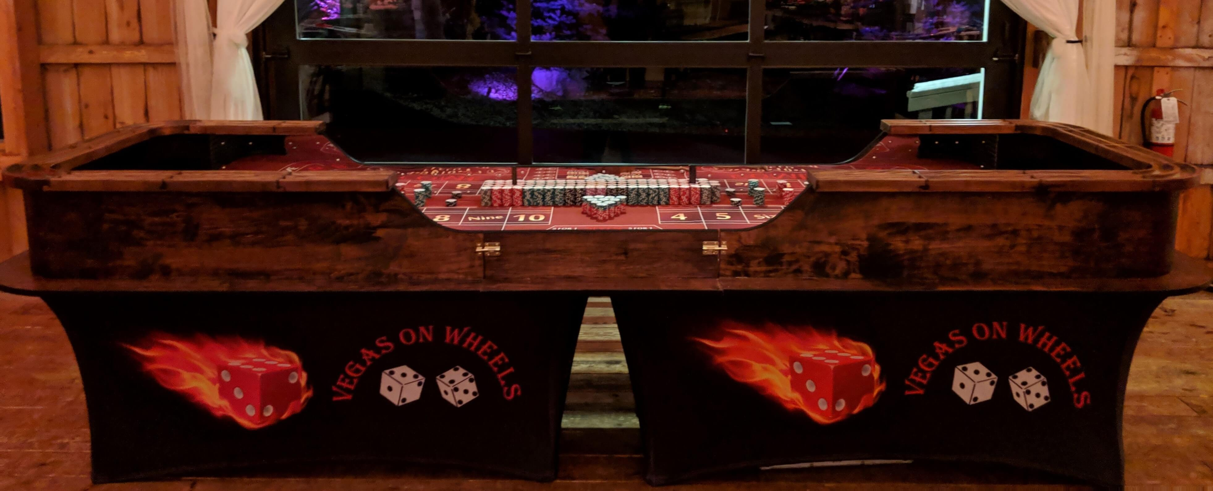 Vegas on Wheels-Wisconsin Casino Night and Casino Party